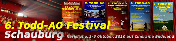 70mm Todd-AO Festival in der Schauburg