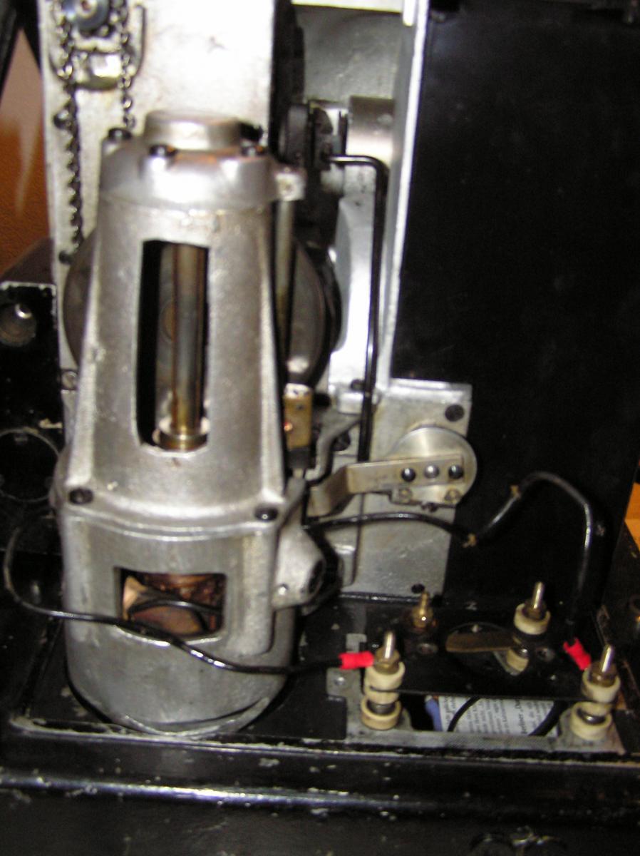 b9) Motor angeschlossen