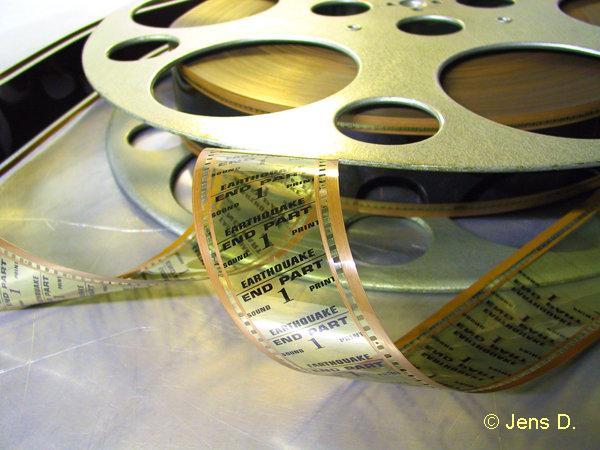70mm-Filmspule