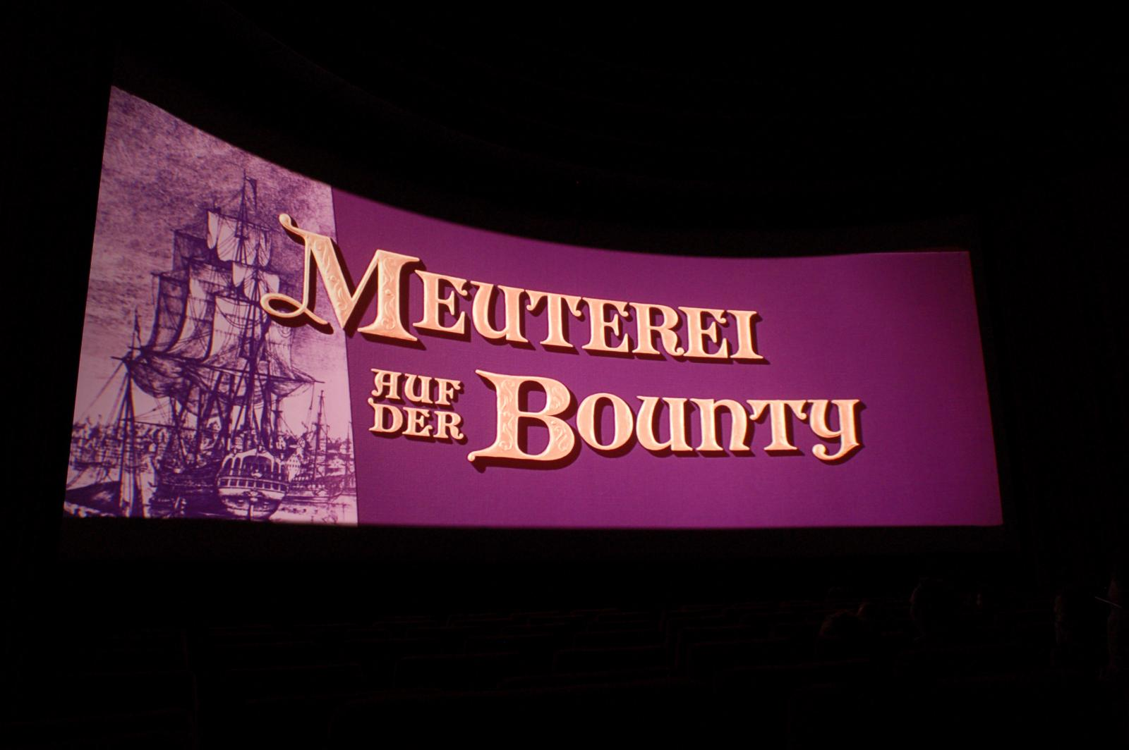 Meuterei auf der Bounty (1962) in Ultra-Panavision