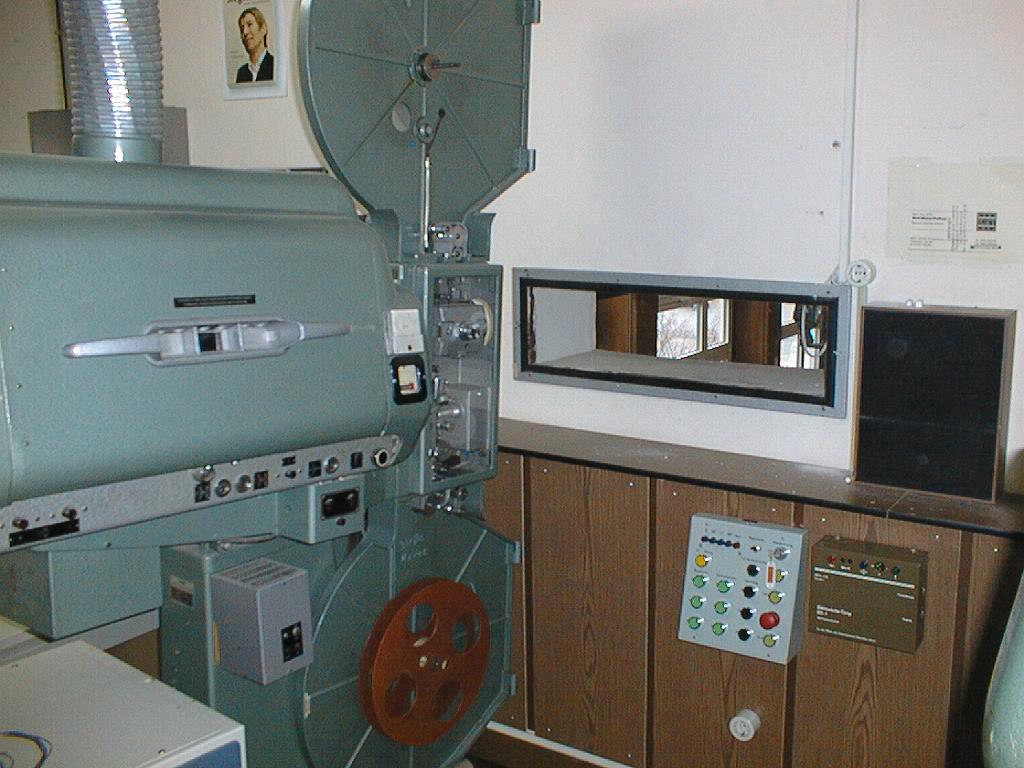 BWR linker Projektor Ansicht von rechts
