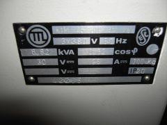 SHC BWR KS Nebenraum Gleichrichter Typenschild 01.JPG