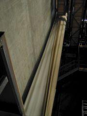 70mm-Bildwand Sicht zur Decke