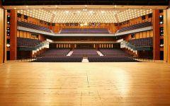 Abbau Technik Stadthalle Chemnitz