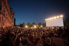 Open Air Kino am Schloss Gotteue in Karlsruhe