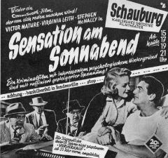 Sensation am Sonnabend (1955)