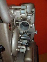 Philips EL5001 Projektor Filmführungsseite Ansicht Richtung Bildfenster