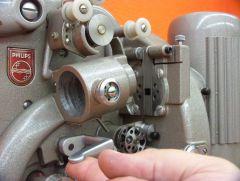Philips EL5001 Öffnen der Filmbühne Bildsequenz Bild 5
