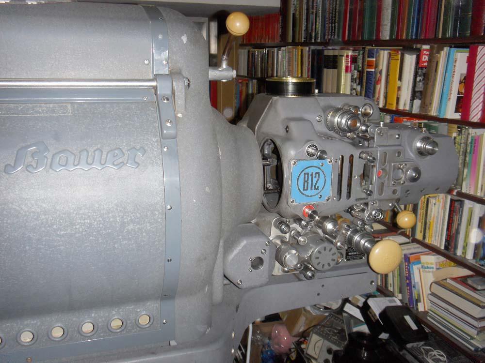 Bauer B12 Getriebekopf