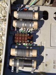 Widerstände für Motor und Lampe im Ditmar 1006