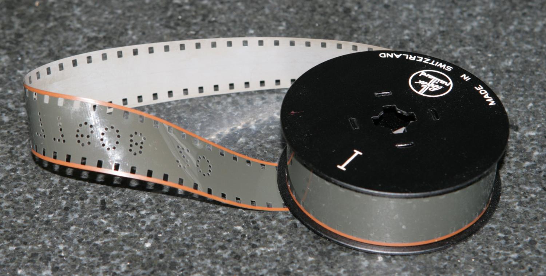 Normal-8 Film vorbespurt