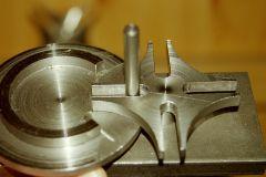 Selbstgebautes Malteserkreuzgetriebe