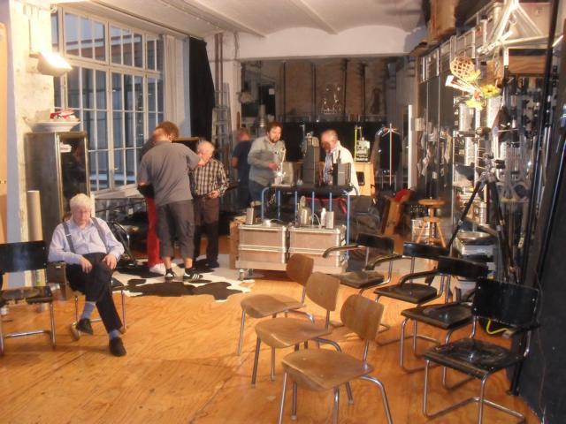 K640 013   Aufbau Im Studio