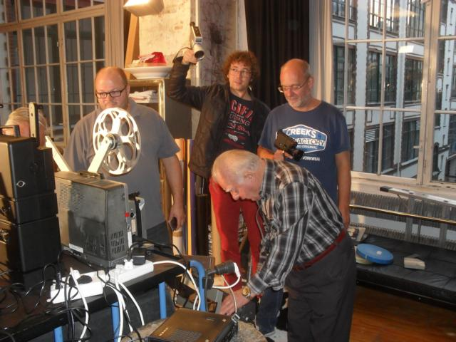 K640 010   Aufbau Im Studio