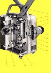 LMP16 Bedienungsanleitung Klappbild Rückseite