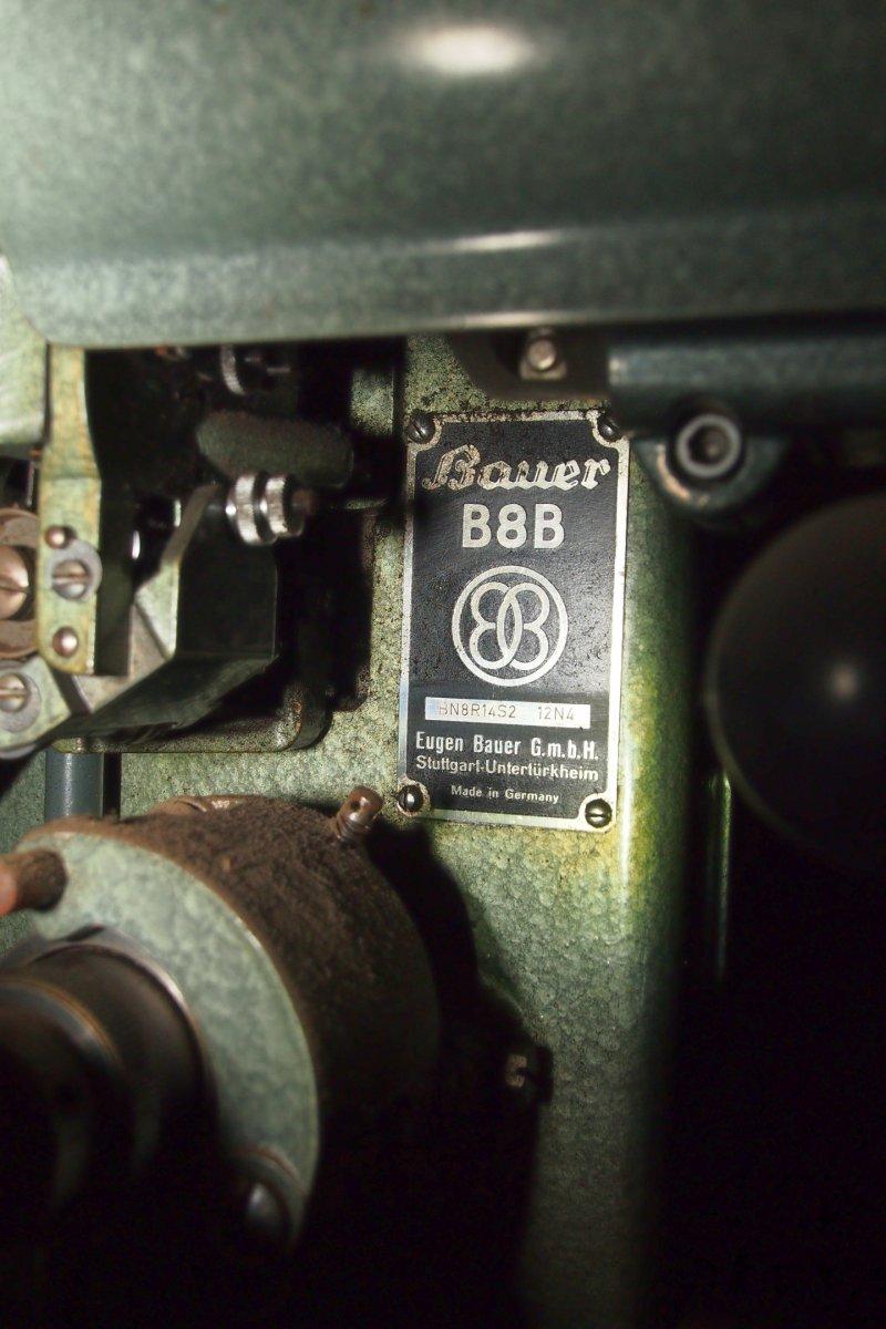 Bauer B8BKegelblenden-Projektoren 35mm Paar zu verkaufen