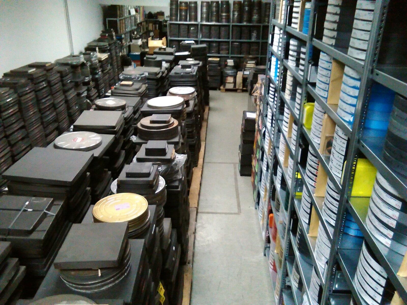 35 mm Filmlager | Dangel I